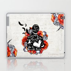 Picture of Dorian Grey - Too Fond of Reading Laptop & iPad Skin