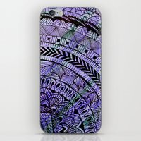 zentangle iPhone & iPod Skins featuring Zentangle by Doodle Frisson