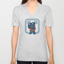 Marty McBear Unisex V-Neck