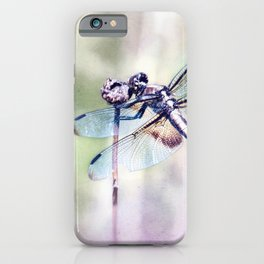 Dragonfly in Pastels iPhone Case