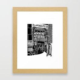 BookingOffice Framed Art Print