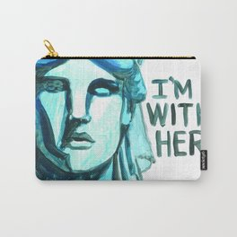 Lady Liberty - I'm With Her Carry-All Pouch