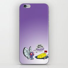 Lonely Butterfree iPhone & iPod Skin