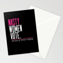 Nasty Women Vote Stationery Cards