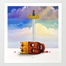 My Beautiful Dark twisted Fantasy Art Print