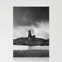 scotland Stationery Cards featuring SCOTLAND, CASTLE by Carlos Sanchez
