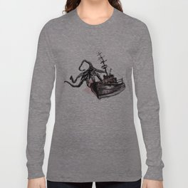 Lost in Sea Long Sleeve T-shirt