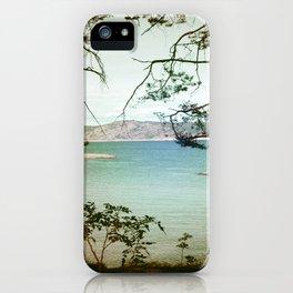 Søndre Sandøy One iPhone Case