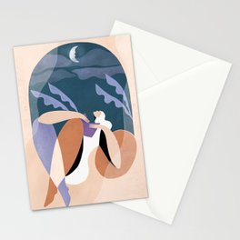 Neither wind nor rain could quench your light Stationery Cards