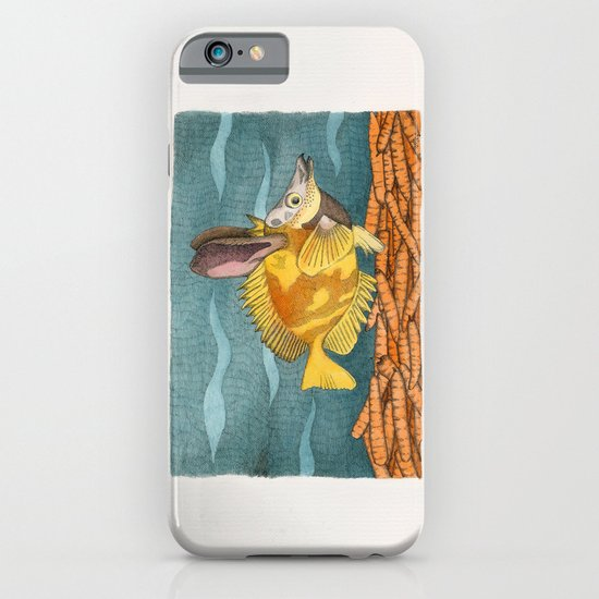 Foxface rabbit fish iPhone & iPod Case