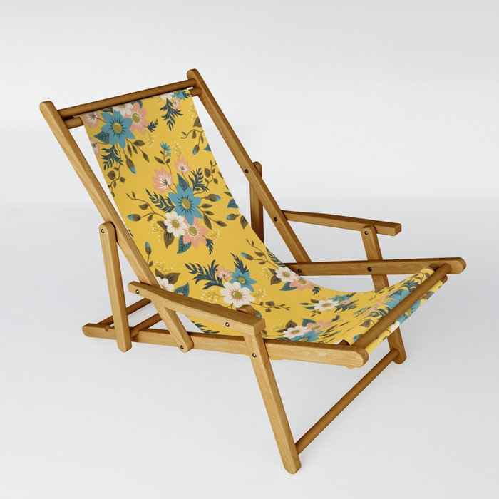 Flowers Sling Chair