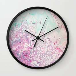 Mountain Blossom Wall Clock