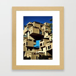 Habitat 67 Framed Art Print
