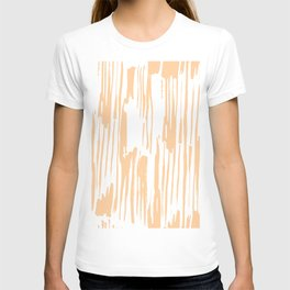Modern Coral Stripes IV T-shirt