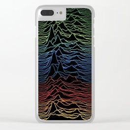 Joy Division - Unknown Colorful Pleasures Clear iPhone Case