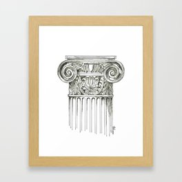 """Column"" Framed Art Print"