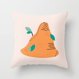 The Ant Hill Throw Pillow