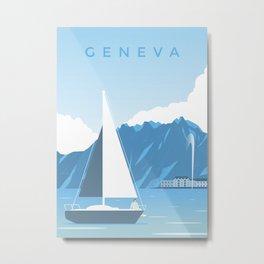 Geneva Metal Print