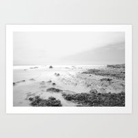Rock Formations of Crystal Cove Coast Art Print