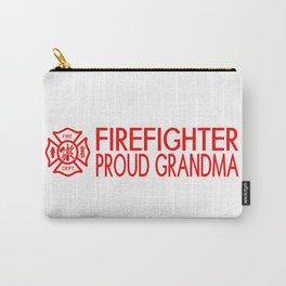 Firefighter: Proud Grandma (Florian Cross) Carry-All Pouch
