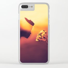 Temptations Clear iPhone Case