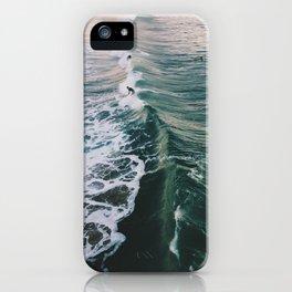 Winter Surf iPhone Case