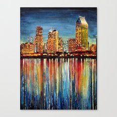 San Diego (1 of 3) Canvas Print