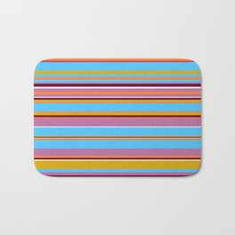 Stripes-011 Bath Mat