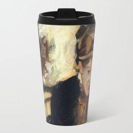 Mary Cassatt by Edgar Degas Travel Mug