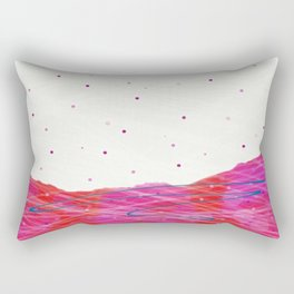 First Snows on Rodborough Hill Rectangular Pillow