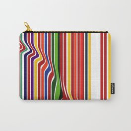 Fab Stripea Carry-All Pouch