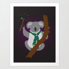 Magical Koala Art Print