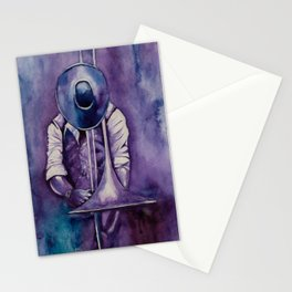 The trombonist Stationery Cards