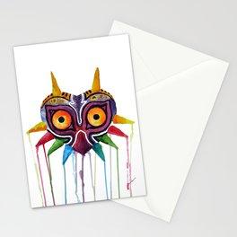 majoras mask Stationery Cards