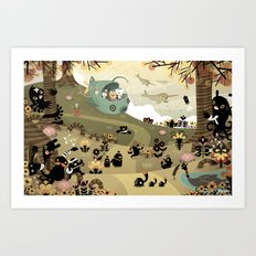 The Octonauts Sea of Shade Art Print