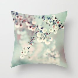Midwinter Daydream Throw Pillow