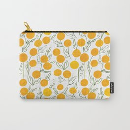Yellow Poms Carry-All Pouch