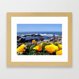 BODEGA POPPIES Framed Art Print