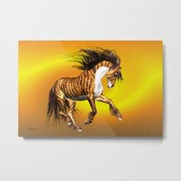 Mystical Horse .. fantasy Metal Print