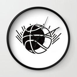 Basketball Enlightenment Triko Ball Gift Wall Clock