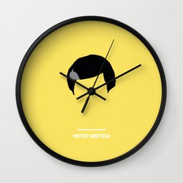 MISTER SHEFFIELD ( The Nanny ) Wall Clock