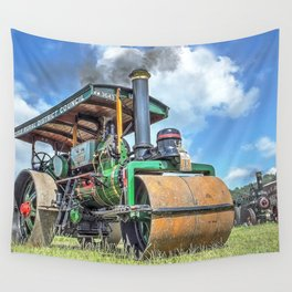 Marshall Steam Roller Wall Tapestry