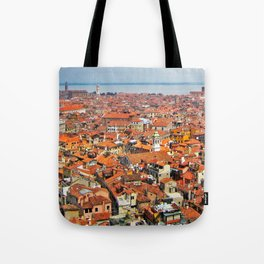 Venice Rooftops Tote Bag