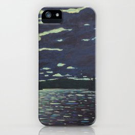 Moonlight – McIntosh Lake, Algonquin Park iPhone Case