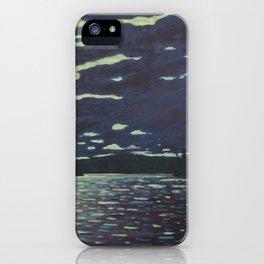 Moonlight – McIntosh Lake, Algonquin Park iPhone Case