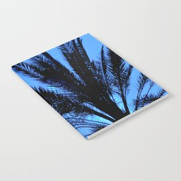 Blue Palm Notebook
