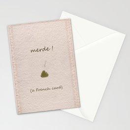 merde! Stationery Cards