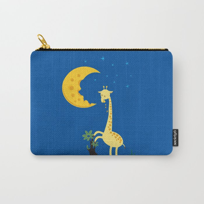The Delicious Moon Cheese Carry-All Pouch