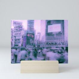 Shibuya Cross Road / Tokyo Street Photography Mini Art Print