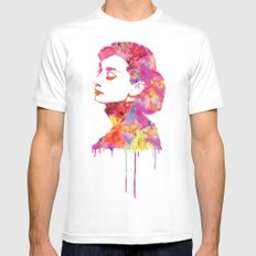 Audrey MEDIUM Mens Fitted Tee White